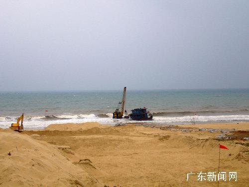"""阳江海陵岛辟水陆航道迎宋代沉船""""南海一号"""""""