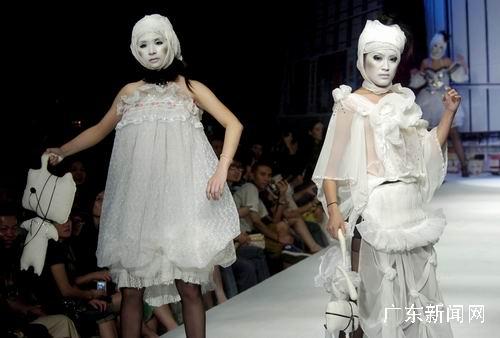 大学生服装设计大赛在广州举行