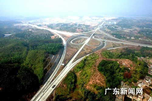 广东梅州兴畲高速公路今建成通车