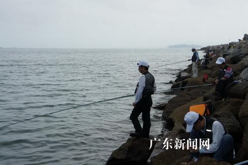 第三届粤台海钓邀请赛在广东茂名举行(图)