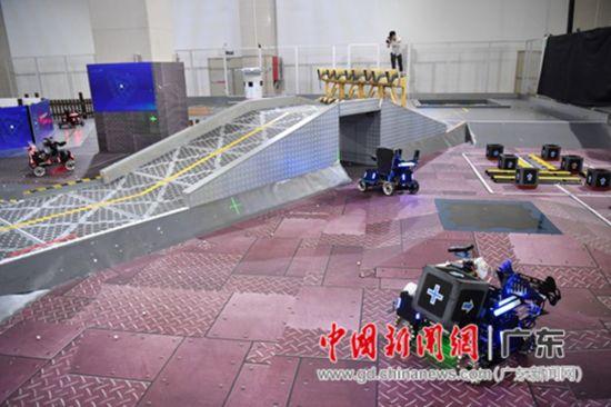 大疆创新RoboMaster机甲画展高中生夏令营决图片大师高中美术图片