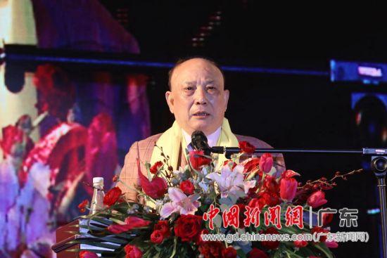 深圳市潮汕商会创会会长吴开松。