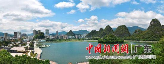 广东最年轻的地级市云浮一角