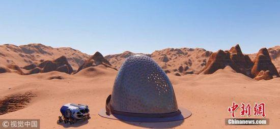 NASA火星住宅设计竞赛是NASA百年挑战赛的一部分,它要求参赛者借助3D技术展示建筑设计师心目中人类在火星生活的样子。3D打印住宅设计必须能经受火星极端环境的考验,拥有适宜的供暖系统及压力系统。 图片来源:视觉中国