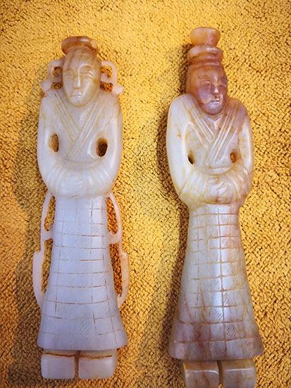 上海古玩收藏家徐国伟携古玉艺术精品在文博会上展示