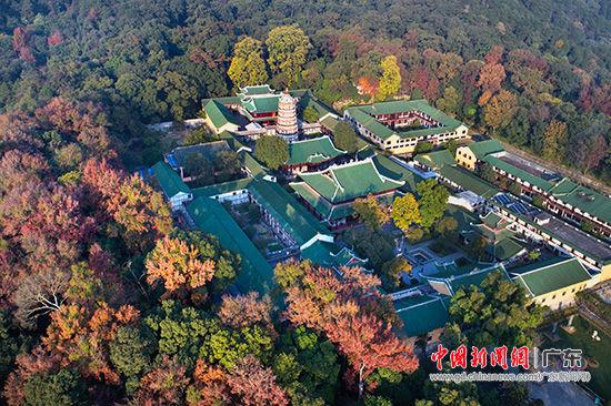 位于广东韶关境内的千年古刹南华禅寺 林庆波 摄