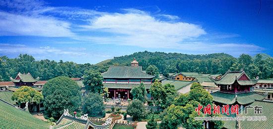 南华禅寺――大雄宝殿、钟楼、鼓楼