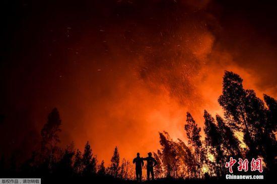 当地时间7月21日,葡萄牙中部爆发山火,现场烈焰滚滚。据外媒报道,当局21日超过1000名消防员救灾,一个村庄的居民被迫撤离,一人受重伤。