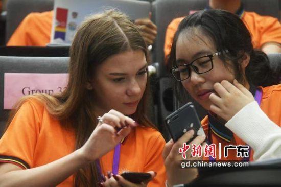 第13届亚洲科学夏令营(AsianScienceCamp,简称ASC)29日在广东汕头广东以色列理工学院开营。曽建平摄影