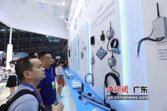 第十二届国际物联网展-深圳站展会现场。主办方供图