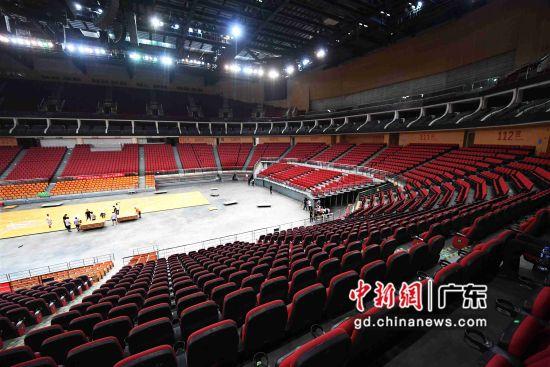 图为2019林书豪明星赛比赛场地―宝能国际体育演艺中心。
