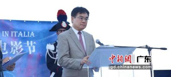 电影节主席、欧洲时报文化传媒集团总裁张晓贝致辞 主办方供图