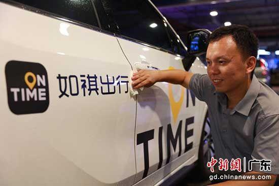 吕国强加入如祺出行,成为一名专职司机 苏嘉轩 摄