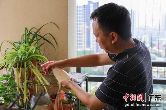 吕国强已经安家在广州,组建了自己的家庭 苏嘉轩 摄