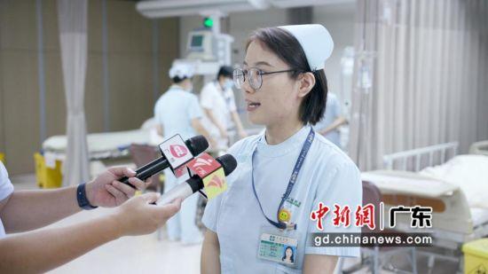 急诊科护士汤湘云 作者:黄小敏