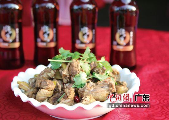 珠江啤酒鸭。通讯员 供图