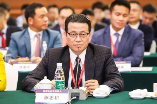 和品光电有限公司董事长陈忠和