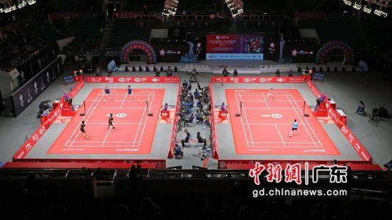 往届大赛比赛现场。广州市体育局摄。