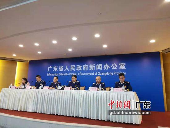 """2019年度全省""""119""""消防安全宣传月新闻发布会现场。黄丽君摄影"""