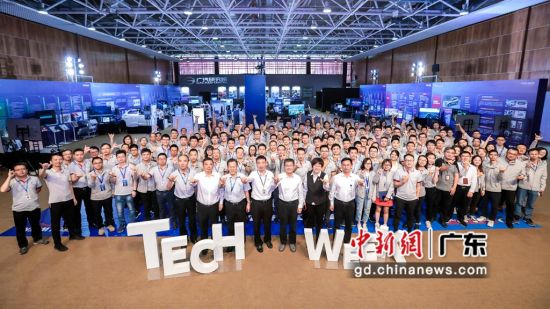 """为期两周的广汽研究院""""2019 Tech Week(科技周)""""11月8日闭幕。王华摄影"""