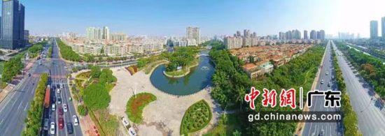 """再添城市新名片 汕头被评为""""全国森林城市""""。汕宣摄影"""