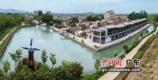 """汕头市潮阳区:率先完成""""红色村""""建设。潮阳宣摄影"""