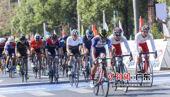 骑手正在进行比赛 主办方供图