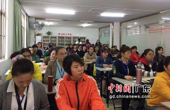 共有60名学员参加此次培训。粤仁宣 供图