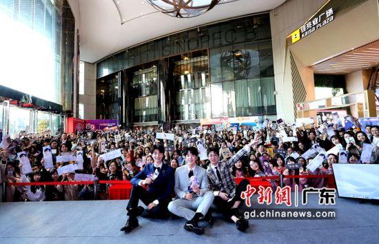 《嗨唱转起来》广州粉丝见面会现场。姬东摄影