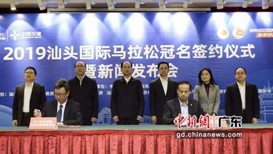 2019汕头国际马拉松将举行。李怡青摄影