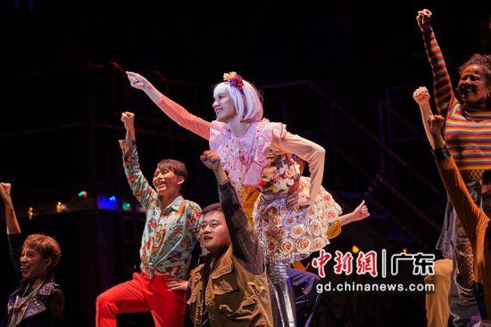 《吉屋出租RENT》官方中文版-2019年杭州首演剧照。主办方供图