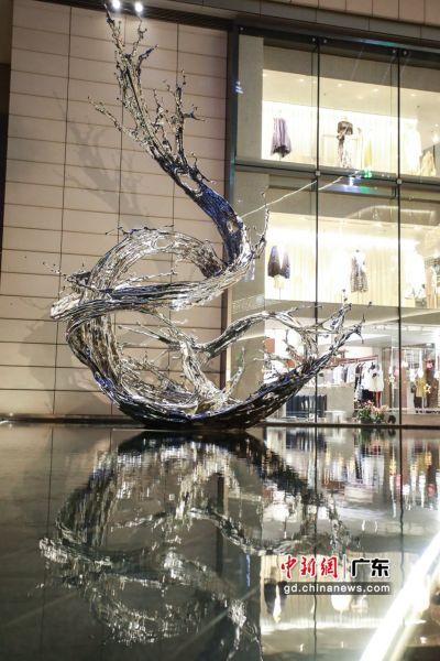 """""""探索万物""""的国际公共艺术展。(主办方供图)"""