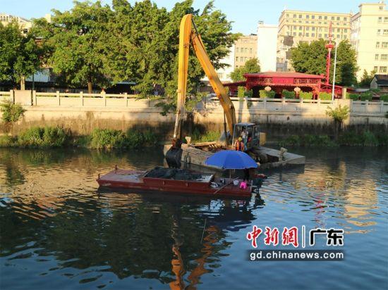 汕头潮阳区全面推行河湖长制工作。潮阳宣供图