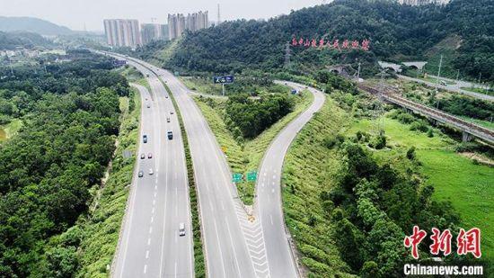 图为广澳高速资料图片。粤交集宣 供图
