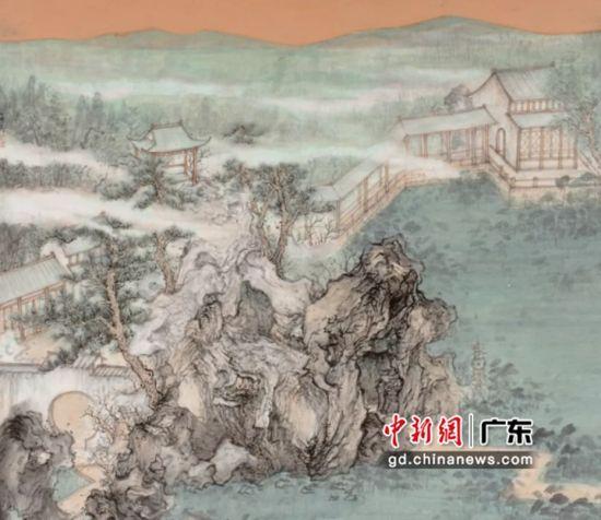 参展作品《曲径通幽处》作者 鲍海舟(浙江省)。黄伟哲 摄