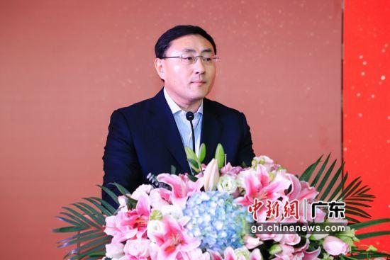 人民日报《国家人文历史》总编辑王翔宇致辞。(主办方供图)