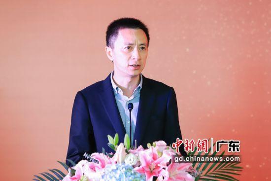 南山区区长黄湘岳致辞。(主办方供图)
