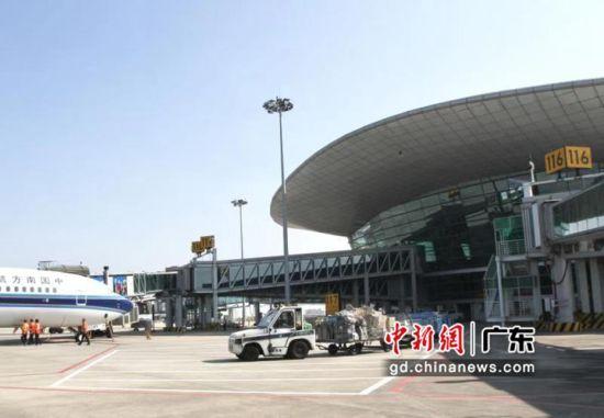 更好地连接世界 揭阳潮汕机场完善航线网络。袁翼伦摄影