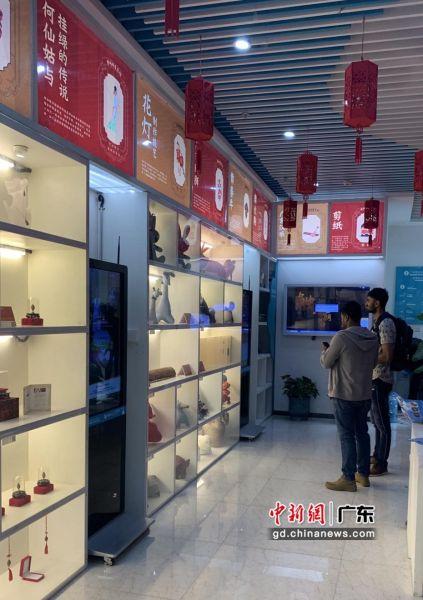 广州塔旅游信息咨询中心(网点)增城非遗项目。通讯员 供图
