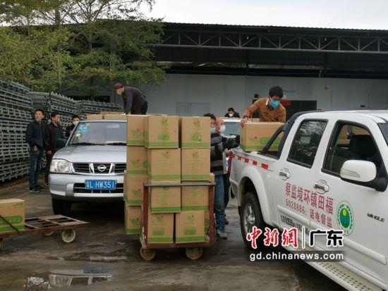 广东博罗爱心企业捐赠40吨金针菇助力疫情防控一线