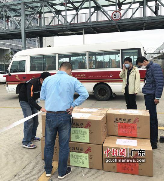 深圳航空积极伸援手 逾1万6千件防疫物资到武汉