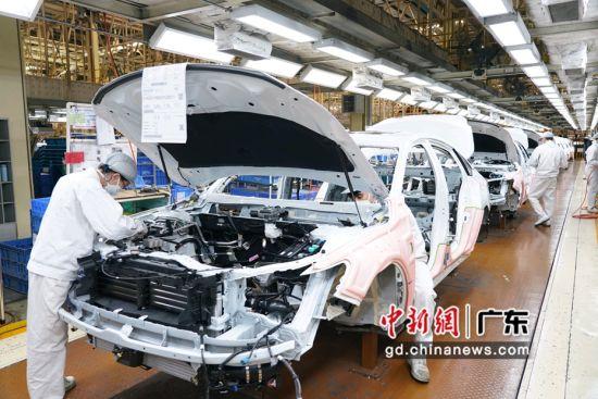 广汽集团整车企业全部复产 全力挽回生产经营