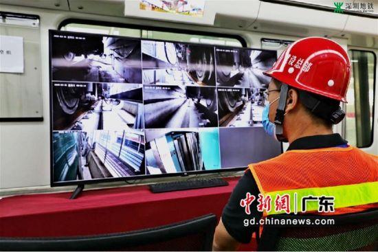 深圳地铁6号线二期接触轨热滑试验成功具备开行条件