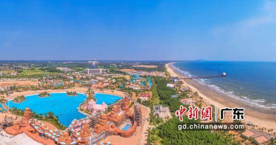 鼎龙湾项目实景。钟欣 摄