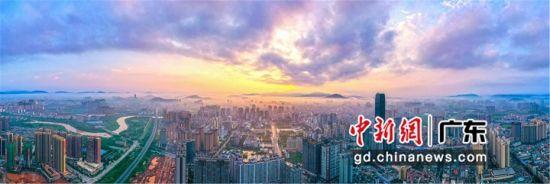 """图为 """"双区驱动""""为广东惠阳中心城区带来的新机遇,重新审视自己,为参与新一轮区域资源竞合奠定基础 朱伟华 摄"""