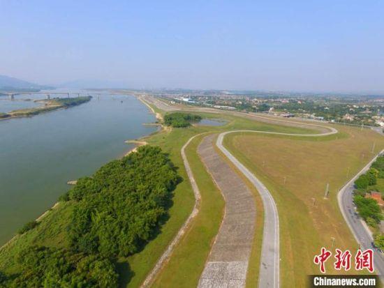广东北江。广东省水利厅供图