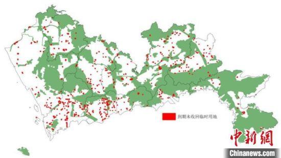 深圳将收回4.44平方公里到期未收回的临时用地
