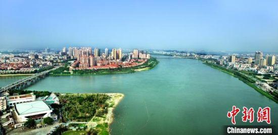 图为广东千年古镇石龙镇城市发展新面貌 石龙宣 供图