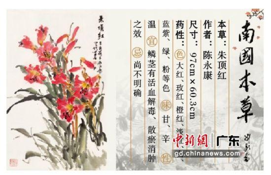 """岭南知名画家绘""""南国本草""""亮相空港文旅小镇"""