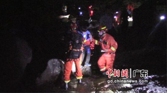 图为救援现场 大亚湾消防大队供图